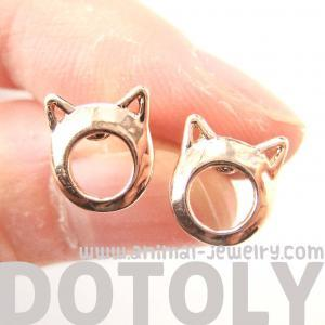 Cute Kitty Cat Ears Animal Shaped S..